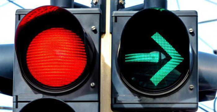 Заява на демонтаж зеленої стрілки світлофора