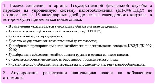 Переход ООО с НДС на смешанную систему налогообложения
